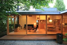 猿投の家|横内敏人建築設計事務所 もっと見る Japanese Home Design, Japanese Style House, Japanese Interior, Japanese Architecture, Interior Architecture, Bedroom Minimalist, River House, Small House Plans, House Layouts