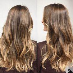 brunette hair Hair Brunette Light Beautiful 61 Ideas For 2019 Brown Ombre Hair, Brown Hair Balayage, Brown Blonde Hair, Hair Highlights, Bronde Bayalage, Honey Balayage, Color Highlights, Light Brunette, Brunette Hair