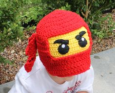 Ninjago Hat Pattern Written Hat Pattern PDF by KnittyMomma on Etsy
