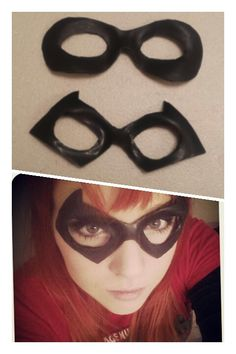 Custom made with latex so it can move with your facial expressions and give an authentic superhero or villain look!   #cosplay #mask #latex #super #hero #villain #prosthetics #batman #blackcat #harleywuinn #robin