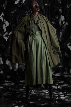 Junya Watanabe Trousers Military Surplus Parka Jacket Designer Vintage Fashion