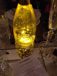 #sparkling #white #wine with #gold