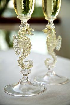 Hand blown glass-art flutes! Ordering Information: Contact Glass Artists: Mike Stevens & Austin Littenberg from Bowling Green, OH. Email:  mikestevensglass@gmail.com