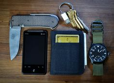 Pretty sweet #wristwatch and fabric wallet