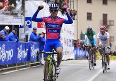 Giro del Trentino 2012 Stage 2. Damiano Cunego takes his first win of the year.