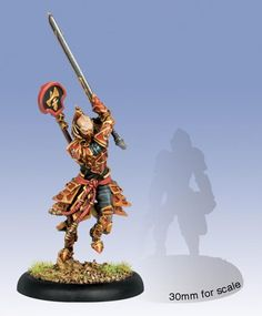 Hordes Skorne Tyrant Zaadesh Character Solo WEB