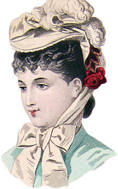 **FREE ViNTaGE DiGiTaL STaMPS**: 19th Century Fashion