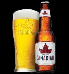 Canadian Beer 6% alcohol.