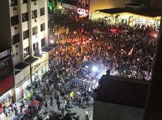Protesto contra aumento das passagens toma as ruas do País; veja fotos - Terra Brasil
