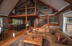 Barn House Staircases: How Your Climb Effects Your Wallet - - The cost of a barn house staircase can vary widely. Find out which style of staircase suites you - and your wallet - best in this article. Barn Homes Floor Plans, Metal Barn Homes, Pole Barn House Plans, Metal Building Homes, Pole Barn Homes, House Floor Plans, Building A House, Loft Floor Plans, Shop House Plans