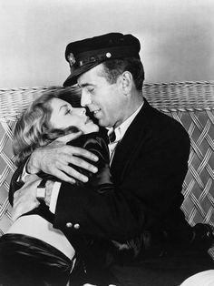 BOGIE  & BACALL - The love was both on and off the stage |  Lauren Bacall and Humphrey Bogart