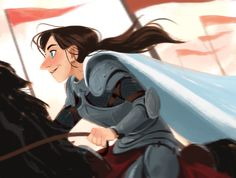 Twitter / MingjueChen: Joan of Arc for @Sketch_Dailies ...