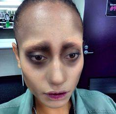 Edward Scissorhand make up
