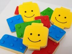 Lego Cookies from Auntie Beas Bakery