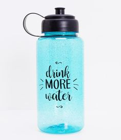 Water Bottle Art, Water Bottle Workout, Large Water Bottle, Cute Water Bottles, Reusable Water Bottles, Water Bottle Design, Plastic Bottles, Drink Bottles, Vodka Bottle