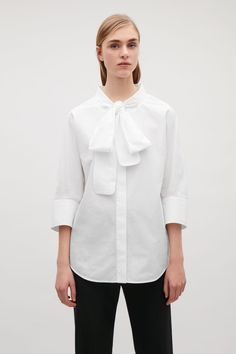 3f7cab8d COS image 2 of Oversized shirt in Signal Red   pinterest in 2019 ...