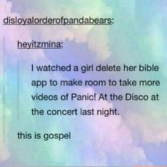 .....I feel bad for saying this but I would do the same if I had a bible app