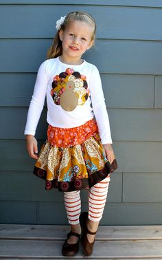 cute thanksgiving outfit, I love it!
