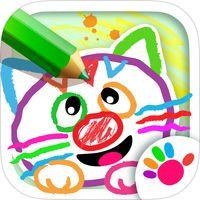 Drawing For Kids Games Apps 3 By Bini Bambini Best Ipad Pre K Apps Kids App Educational Apps For Kids Free Preschool Games