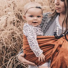 Wildbird baby carrier ring sling