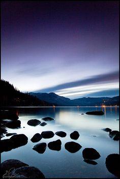 Dusk, Donner Lake