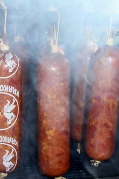 How To Make Sausage, Smokehouse, Kielbasa, Smoking Meat, Sausage Recipes, Chorizo, Food And Drink, Homemade, Pork Sausage Recipes