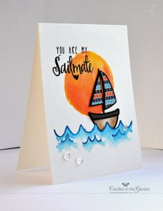 Neat & Tangled July Release, Day 2: Sailmates | Candles in the Garden