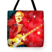 Mark Knopfler Tote Bag by Riccardo Zullian