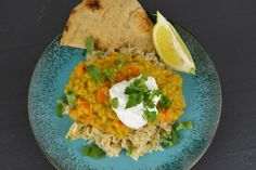 SPICED DAL WITH CILANTRO YOGURT- MUST TRY THIS SOON