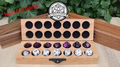 Amazing Hardwood dice boxes, for your most precious of dice, with amazing wood choices and engraving options.