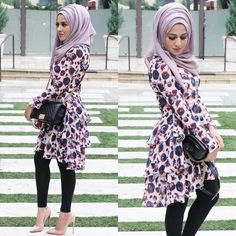 Maryam is one of those people who makes hijab work well with anything. Modest Fashion Hijab, Casual Hijab Outfit, Fashion Outfits, Muslim Women Fashion, Islamic Fashion, Morocco Fashion, Hijab Dress Party, Modele Hijab, Stylish Dresses For Girls