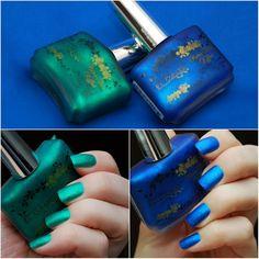 EL Corazon лаки для ногтей серии Matte & Shine Effect №m&s 161 и №m&s 163