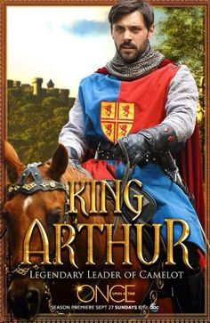 Meet the legendary King Arthur when #OnceUponATime returns Sunday, September 27 at 8 7c.