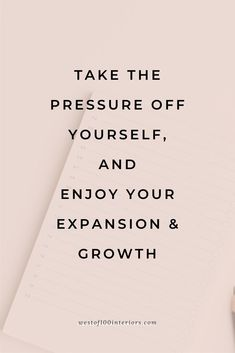 Groth mindset quotes. I want to you take the pressure off that you have to have it all figured out, that you have to have everything perfect in life to make an impact. Life is about growth so enjoy your everyday moments and learn to love the expansion & growth you're going through. | motivation, home life, encouragement quotes, quotes about life, happiness quotes about life, encouragement quotes for women, motivational quotes of encouragement, Quotes to get you inspired, growth mindset quote Positive Quotes For Women, Inspirational Quotes For Women, Motivational Quotes For Success, Positive Vibes, Spiritual Growth Quotes, Growth Mindset Quotes, Boss Quotes, Quotes Quotes, Self Motivation Quotes