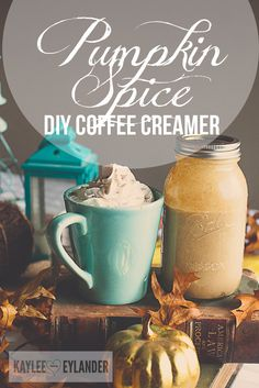 Fall Pumpkin Spice Coffee Creamer 1 recipe-3 | Gluten Free Cooking | Kaylee Eylander DIY | Coffee Creamer Recipe