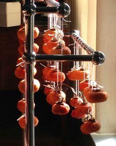 How to dry Fuyu persimmons the traditional Japanese way   Hoshigaki Recipe   ShockinglyDelicious.com