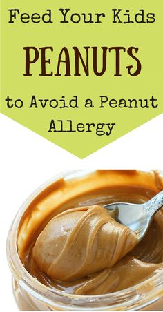 This is exactly what I've been saying for years!!! Want to Avoid a Peanut Allergy? Feed your kid peanuts!