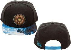 ff791e809122b Bioworld Legend of Zelda Breath of The Wild Snapback Hat Standard