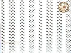Silver Check Adhesive Nail Sticker Nail Art - 1 pc (YD01-S) Nails & Co, Nail Art Stickers, You Nailed It, Adhesive, Base Coat, Top Coat, How To Apply, Texture, Silver