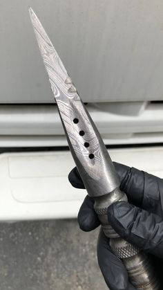 Damascus Dagger Fixed Blade Cool Knives, Knives And Swords, Knife Aesthetic, Survival Rifle, Homemade Weapons, Ninja Weapons, Walking Sticks And Canes, Concept Weapons, Vikings