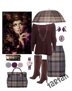 """""""Winter Tartan🍀"""" by parnett ❤ liked on Polyvore featuring Barbour, Free People, Diane Von Furstenberg, Emily & Ashley, Smith & Cult, Bobbi Brown Cosmetics, NOL Jewellers and Cartier"""