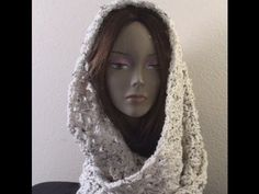 Crochet Infinity Scarf - Aquatic Blossom