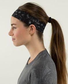 Fly Away Tamer Headband, lululemon.com, $14