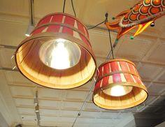 BUSHEL BASKET | Bushel basket lighting
