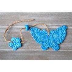guirlande papillon en faïence by Tanzania Création