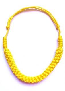 Maigo sárga zsinór nyaklánc