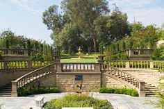 The Greystone Mansion is in Beverly Hills