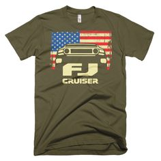 Patriotic FJ Cruiser Shirt