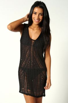 Summer bathing suit cover up dress