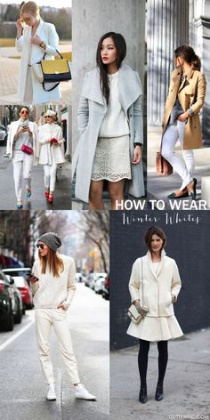How to Wear White Af